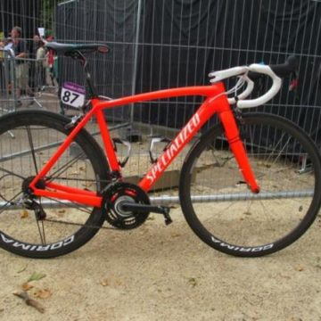 Золотой велосипед Александра Винокурова Specialized S-Works Tarmac SL4
