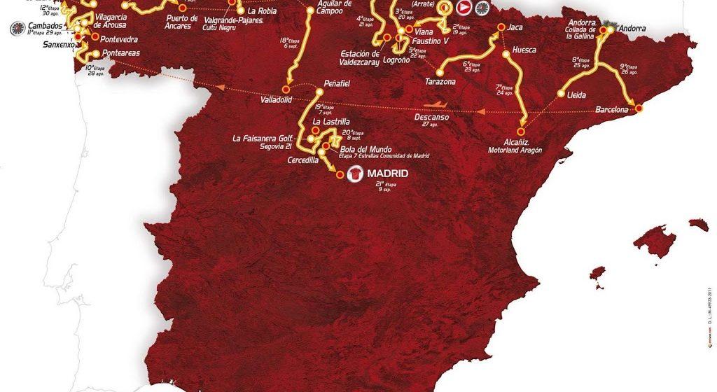 Вуэльта Испании/Vuelta a España 2012