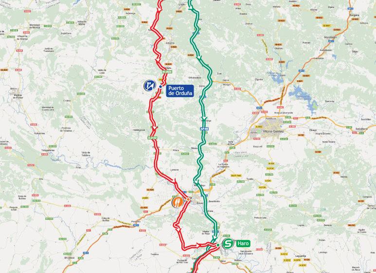 Вуэльта Испании 2012/Vuelta a España 2012 4 этап превью