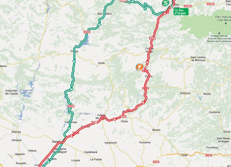 Вуэльта Испании/Vuelta a España 2012 8 этап превью