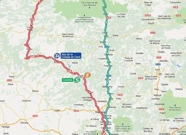 Вуэльта Испании/Vuelta a España 2012 9 этап превью