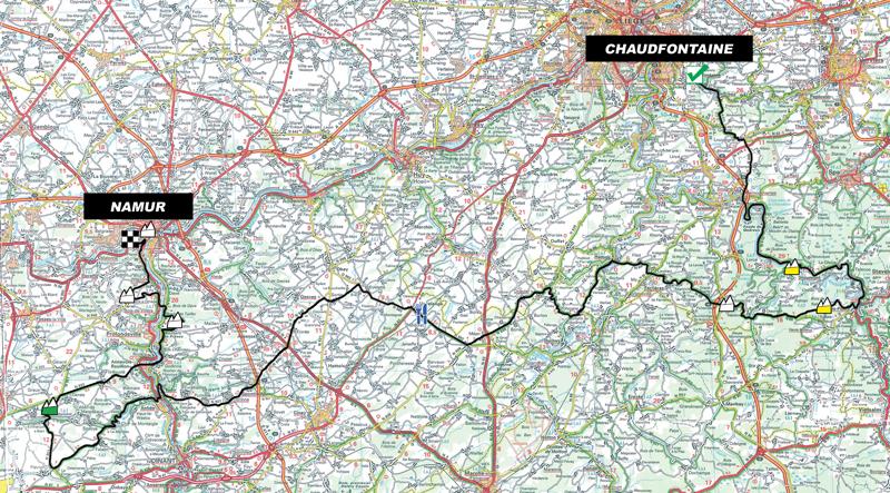 Гран При Валонии/GP de Wallonie 2012 стартовый лист