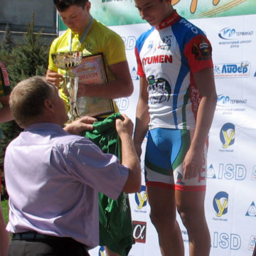 Велогонка Дружба 2012 2 этап