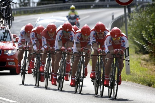 Состав Катюши на Милан — Турин 2012 и Джиро дель Пьемонте 2012