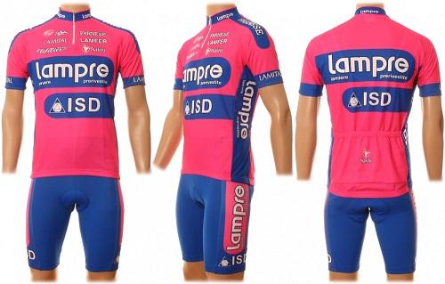 Состав Lampre-ISD на Милан — Турин 2012 и Джиро дель Пьемонте 2012