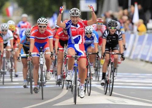 Чемпионат Мира 2012 Женщины Юниорки групповая гонка
