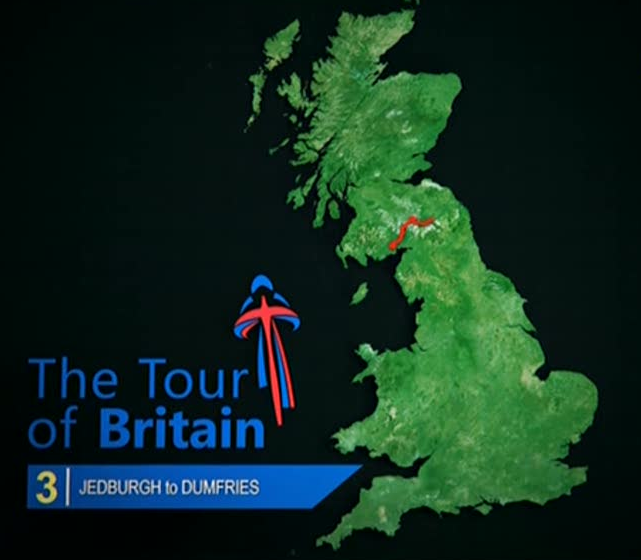 Тур Британии/Tour of Britain 2012 3 этап онлайн