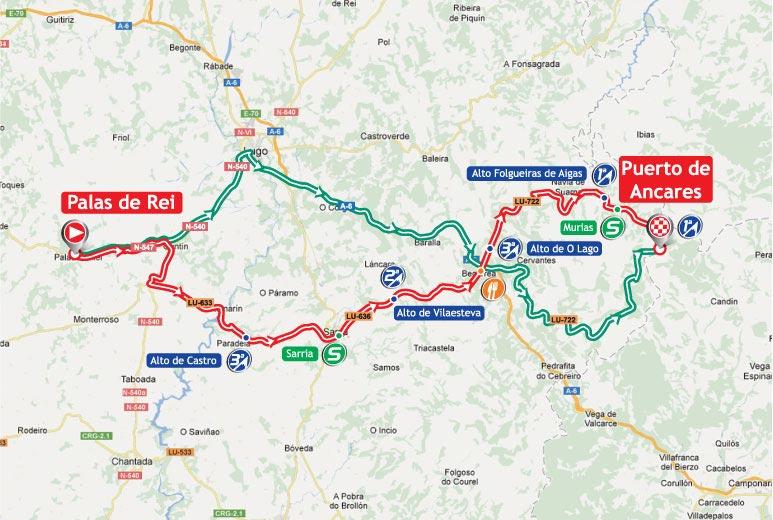 Вуэльта Испании/Vuelta a España 2012 14 этап превью