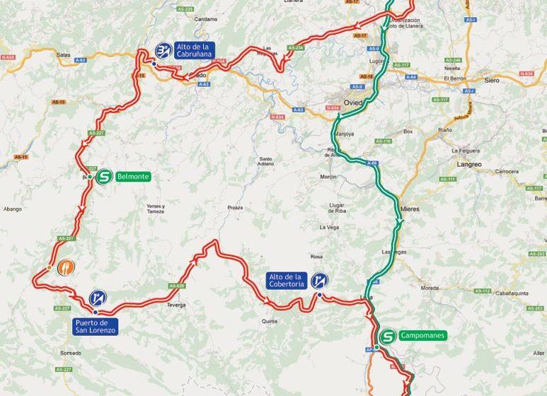 Вуэльта Испании/Vuelta a España 2012 16 этап превью