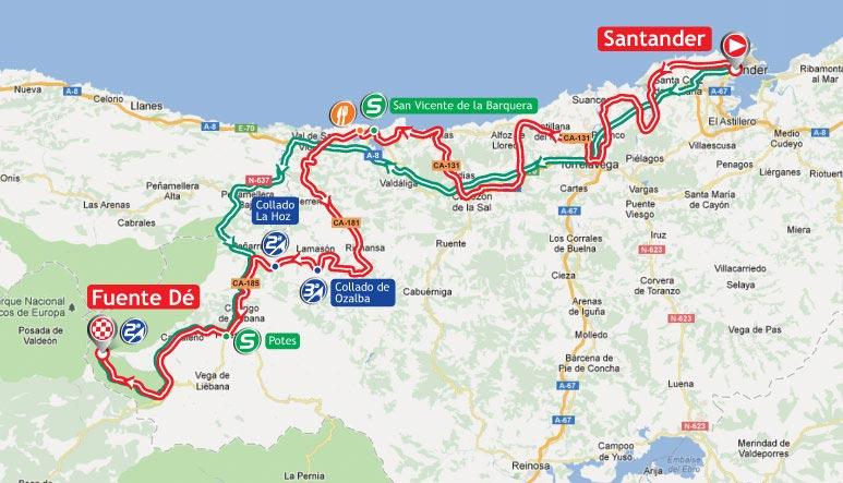 Вуэльта Испании/Vuelta a España 2012 17 этап превью