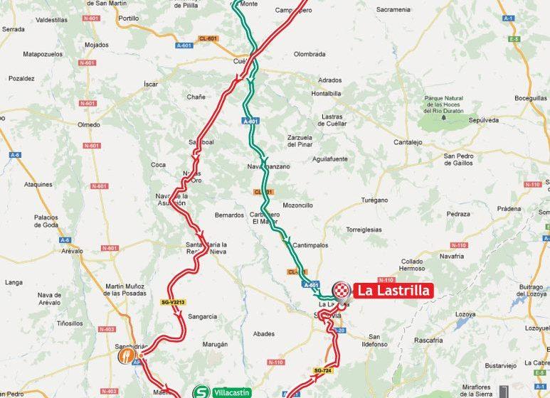 Вуэльта Испании/Vuelta a España 2012 19 этап превью