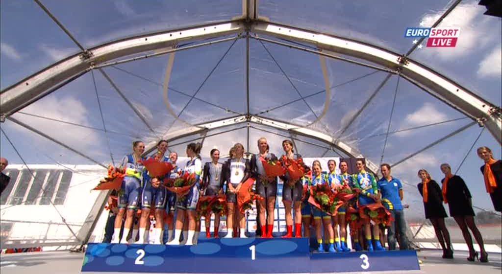 Чемпионат Мира/UCI Road World Championships 2012 Женщины Элита командная гонка на время