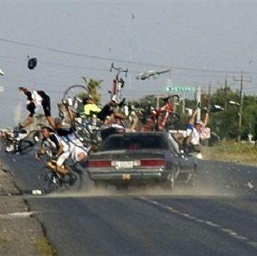 Подборка вело ДТП