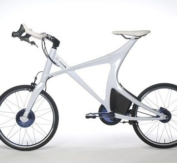 Концепт велосипеда Lexus Hybrid Bicycle Concept