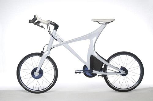 Концепт велосипеда Lexus Hybrid Bicycle Concept