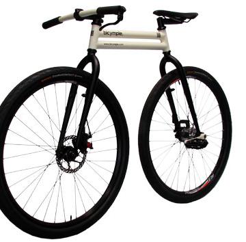 Bicymple — компактный велосипед