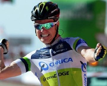 Саймон Кларк продлил контракт с Orica-GreenEdge