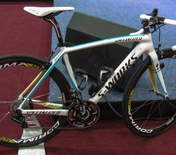 Specialized S-Works Tarmac SL4 команды Astana 2013