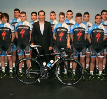 Презентация команды Specialized-Alberto Contador Foundation