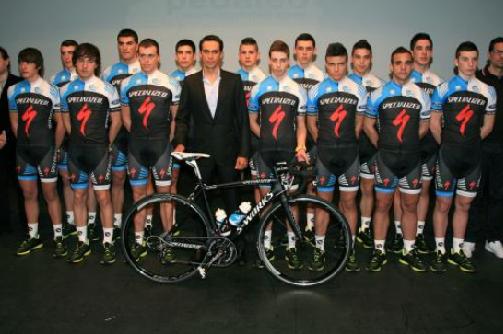 Презентация команды Specialized-Alberto Contador Foundation
