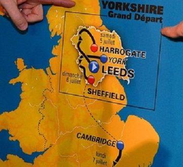 Старт Тур де Франс 2014 в Йоркшире обойдётся в 10 млн ?