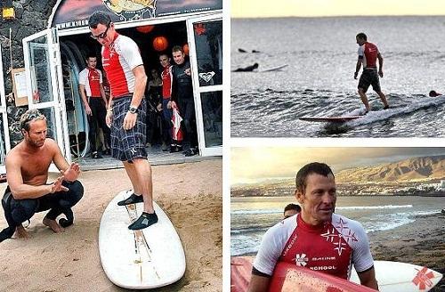 Армстронг будет сёрфером