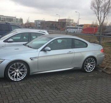 У Никки Терпстры угнали BMW M3