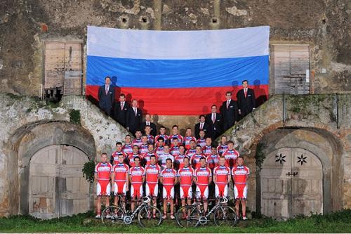Состав Катюши на Джиро д'Италия 2013