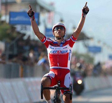 Лука Паолини стал победителем 3 этапа Джиро д'Италия 2013