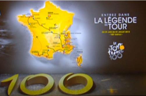 Тур де Франс 2013 обратный отсчёт