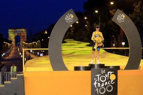 Кристофер Фрум стал победителем Тур де Франс 2013