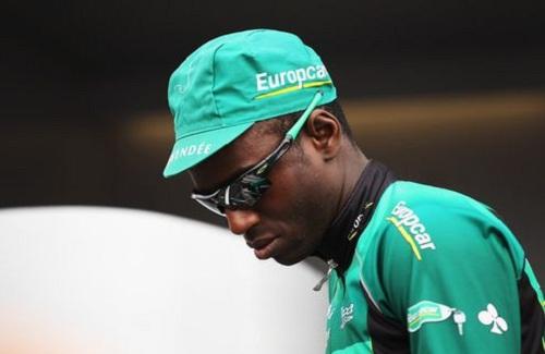 Кевин Реза — один из 2 темнокожих гонщиков на Тур де Франс 2013