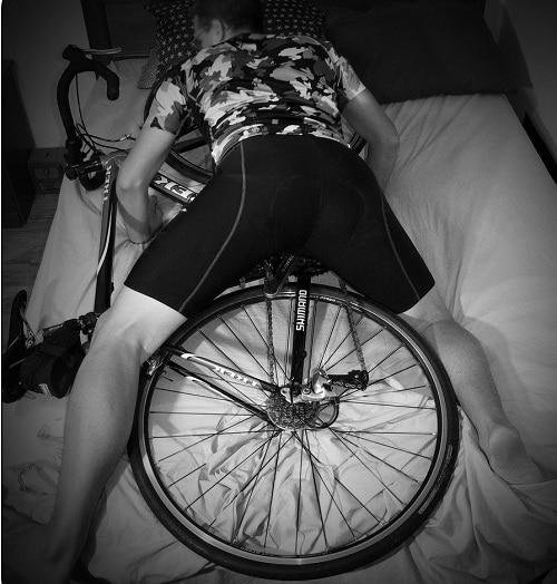 Извращенец изнасиловал велосипед