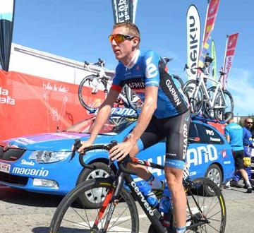Дэниэль Мартин упал на 7 этапе Вуэльты Испании 2013
