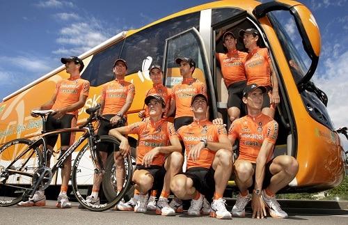Euskaltel-Euskadi прекратит существование по завершении сезона 2013 года