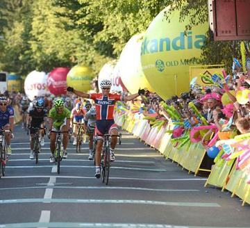 Тур Польши 2013 5 этап