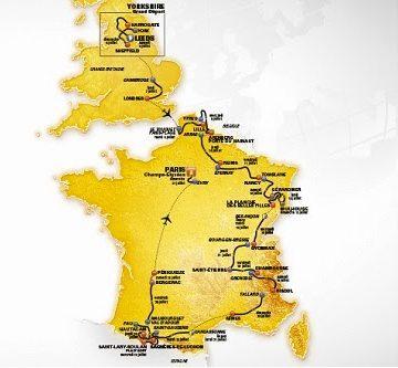 Презентация маршрута Тур де Франс 2014 скачать