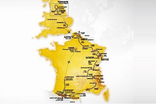 На дистанции Тур де Франс 2014 будет всего 1 гонка с раздельным стартом
