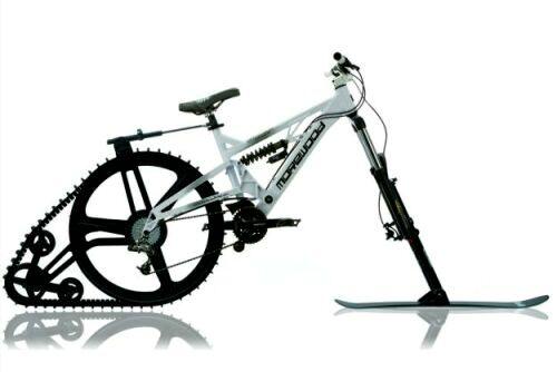Зимний велосипед Ktrak