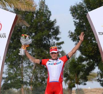 Александр Кристофф принёс первую победу в 2014 году команде Катюша