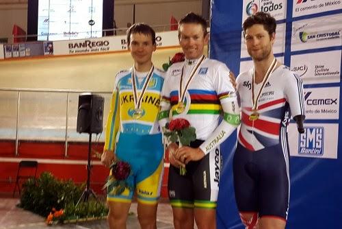 Егор Дементьев завоевал первую медаль на Чемпионате Мира по велотреку (инваспорт) в мексиканском Агуаскальентесе
