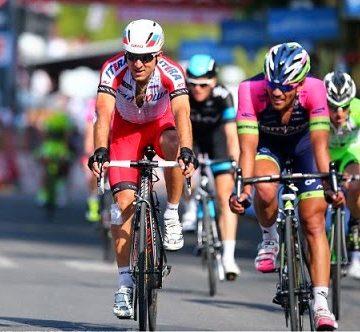 Владимир Гусев финишировал 6-м на 10-м этапе Джиро д'Италия 2014