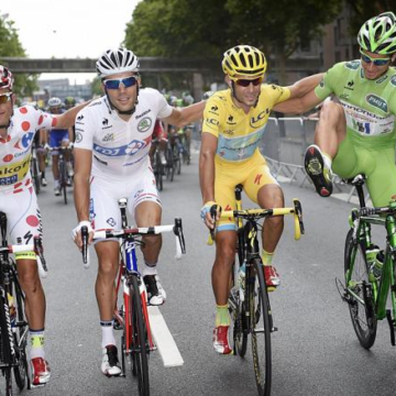 Победители призовых классификаций Тур де Франс 2014