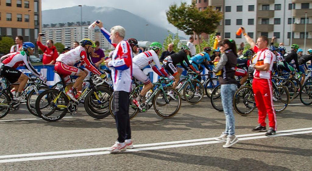 Групповая гонка Чемпионата Мира прошла под потоками сильного ливня