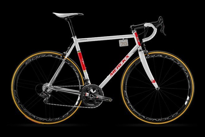 Limited-edition Eddy Merckx Eddy70