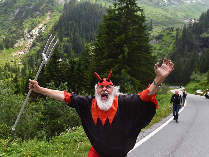 The devil visits the Tour de Suisse