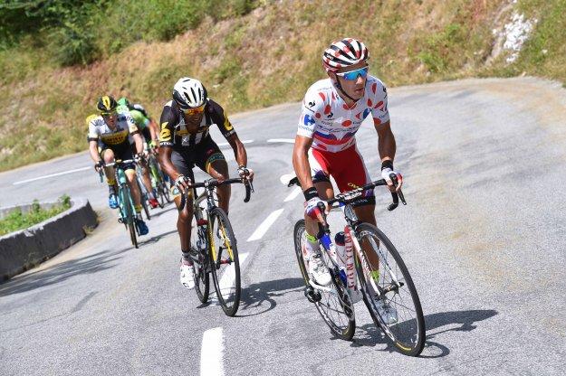 Тур де Франс. Хоаким Родригес продолжает борьбу за гороховую майку