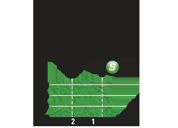 Промежуточный спринтерский финиш 13 этапа Тур де Франс 2015