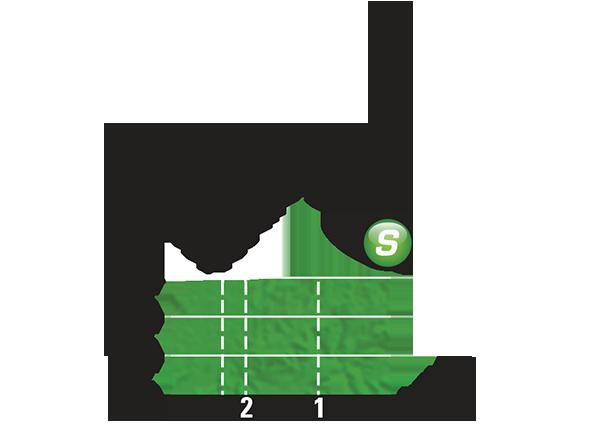 Промежуточный спринтерский финиш 10 этапа Тур де Франс 2015