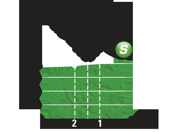 Промежуточный спринтерский финиш 16 этапа Тур де Франс 2015